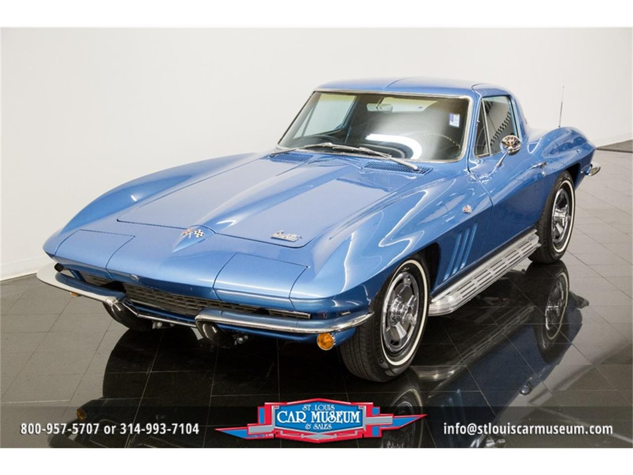 Large Picture of Classic '66 Chevrolet Corvette located in Missouri Offered by St. Louis Car Museum - MOAD