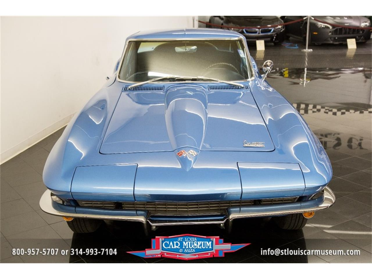 Large Picture of Classic '66 Corvette located in St. Louis Missouri Offered by St. Louis Car Museum - MOAD