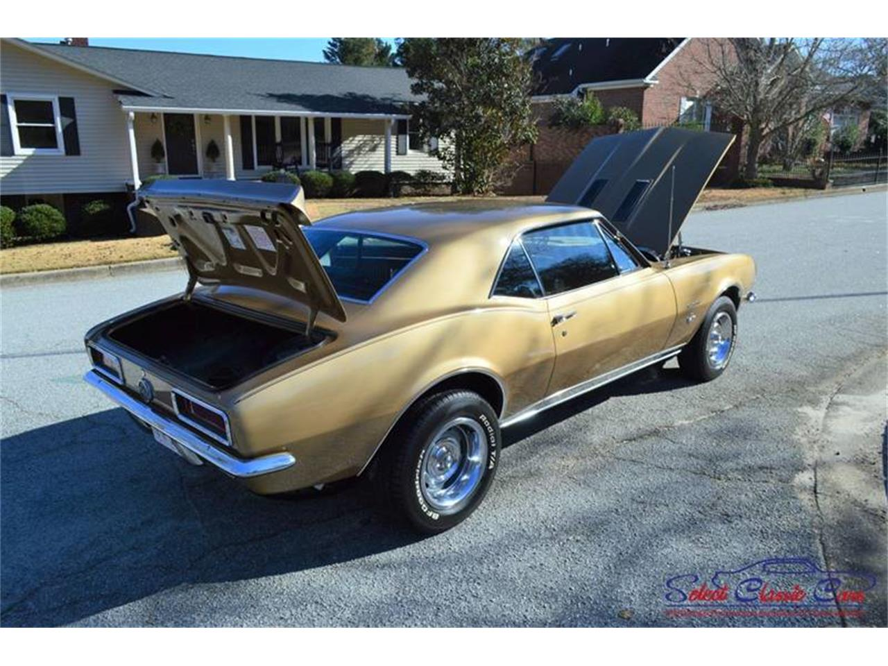Large Picture of '67 Camaro located in Hiram Georgia - $55,500.00 Offered by Select Classic Cars - MOBE