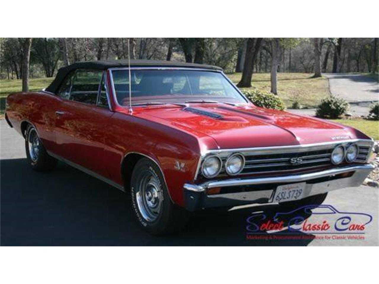 Large Picture of Classic 1967 Chevrolet Chevelle located in Hiram Georgia Offered by Select Classic Cars - MOBG