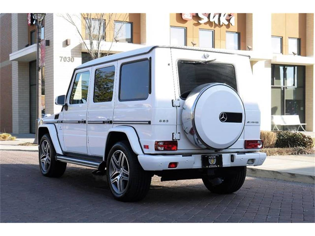 Large Picture of 2015 Mercedes-Benz G-Class Auction Vehicle Offered by Arde Motorcars - MOCR