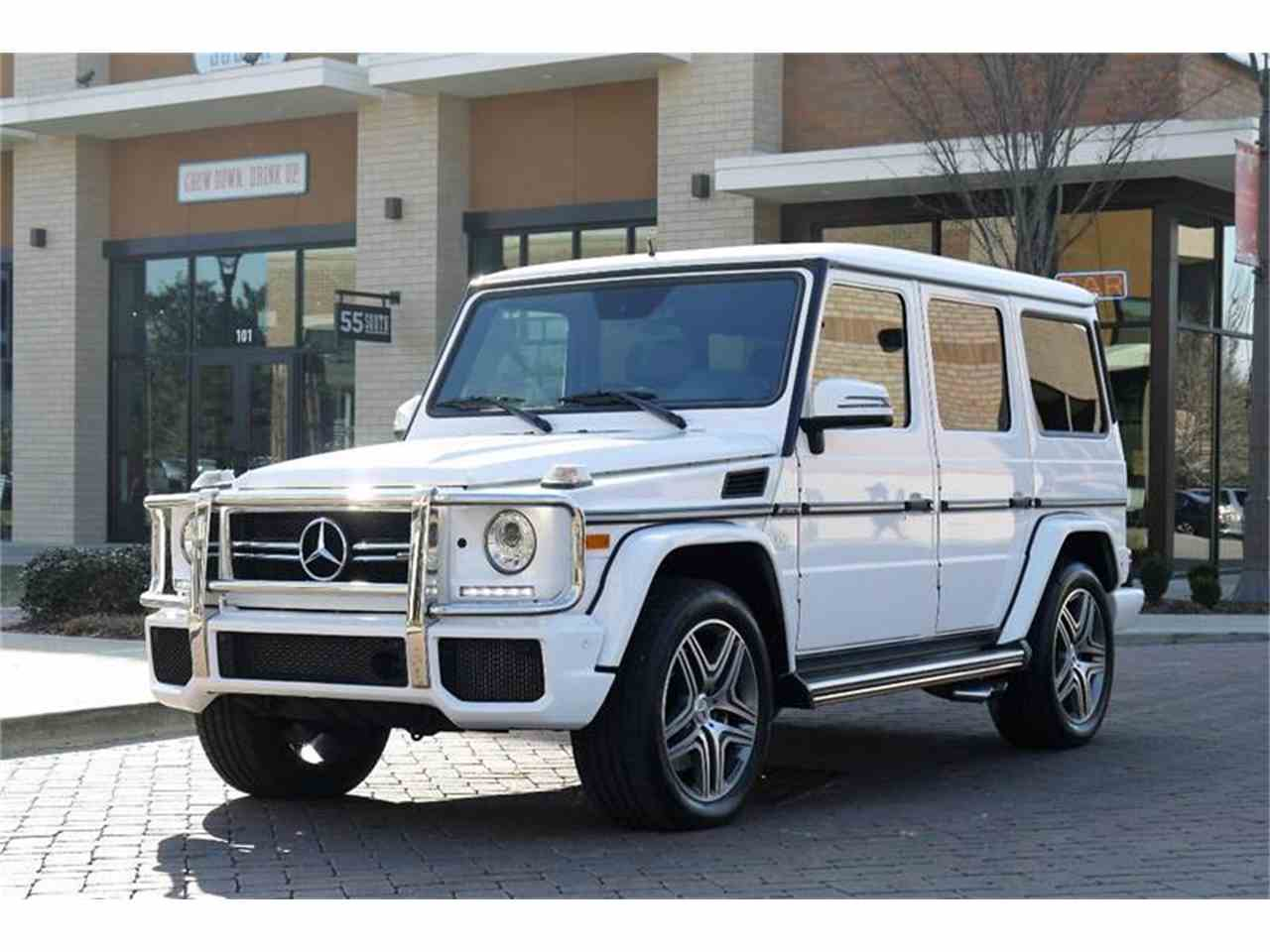 Large Picture of '15 G-Class - MOCR