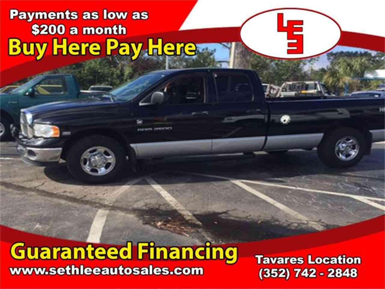 Large Picture of 2003 Ram 2500 located in Florida - MOCV