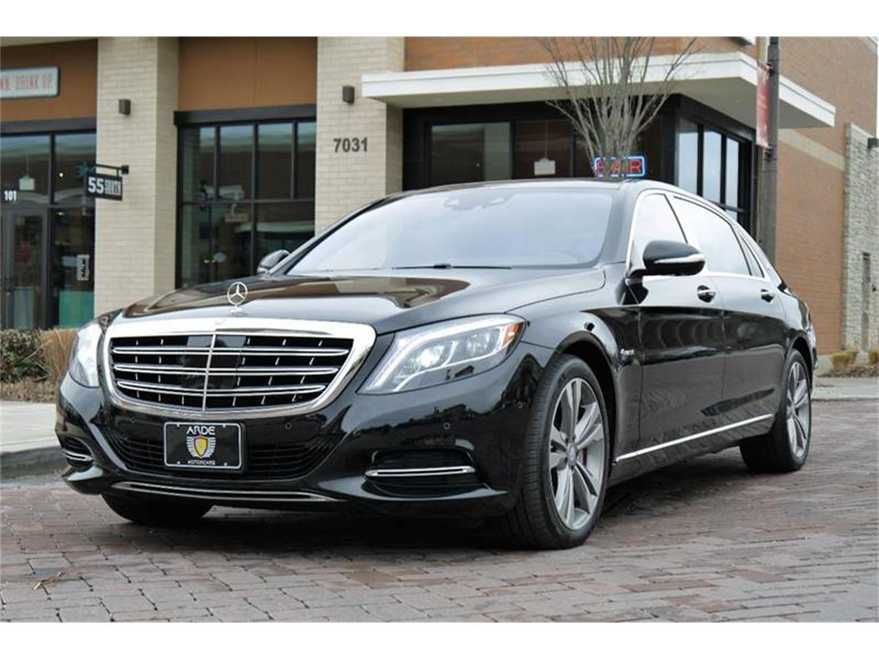 Large Picture of '17 Mercedes-Benz S-Class located in Brentwood Tennessee - MOD1