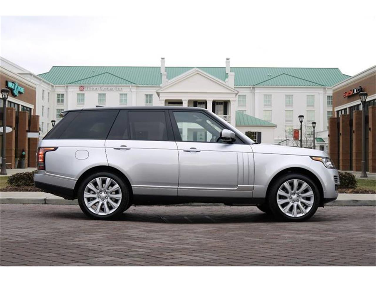 Large Picture of '17 Land Rover Range Rover located in Brentwood Tennessee Auction Vehicle Offered by Arde Motorcars - MODC