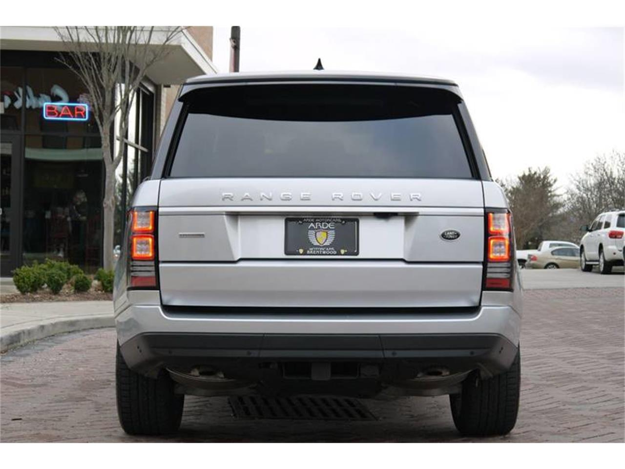 Large Picture of '17 Land Rover Range Rover located in Brentwood Tennessee Auction Vehicle - MODC