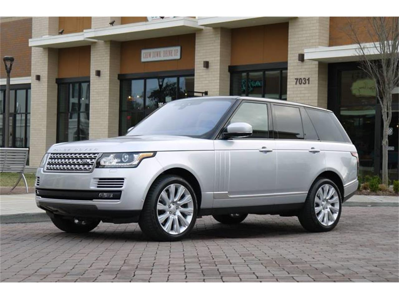 Large Picture of '17 Land Rover Range Rover located in Tennessee Auction Vehicle Offered by Arde Motorcars - MODC