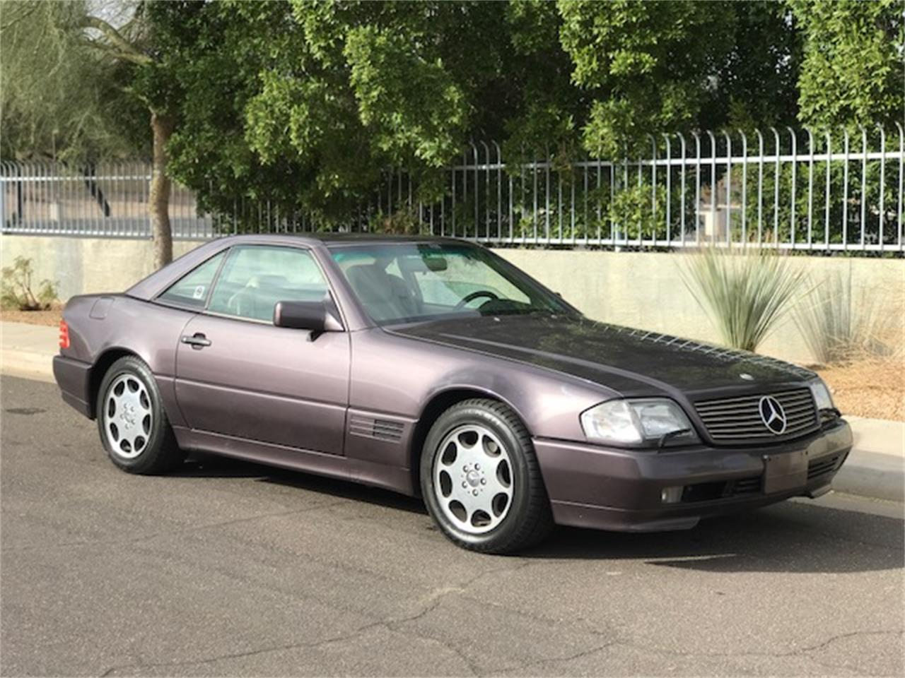 Large Picture of 1992 Mercedes-Benz SL500 Offered by Russo and Steele - MOE6