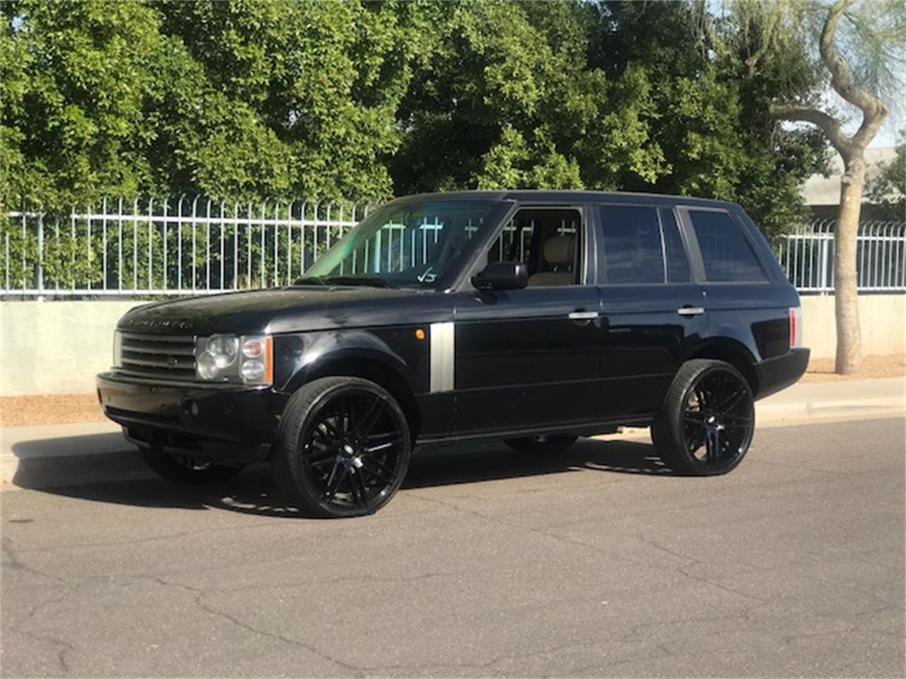 Large Picture of '03 Land Rover Range Rover Auction Vehicle - MOEG