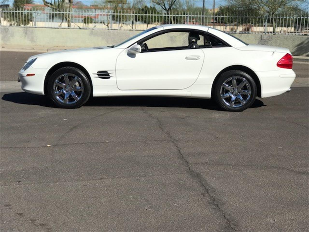 Large Picture of 2003 Mercedes-Benz SL500 Auction Vehicle - MOES