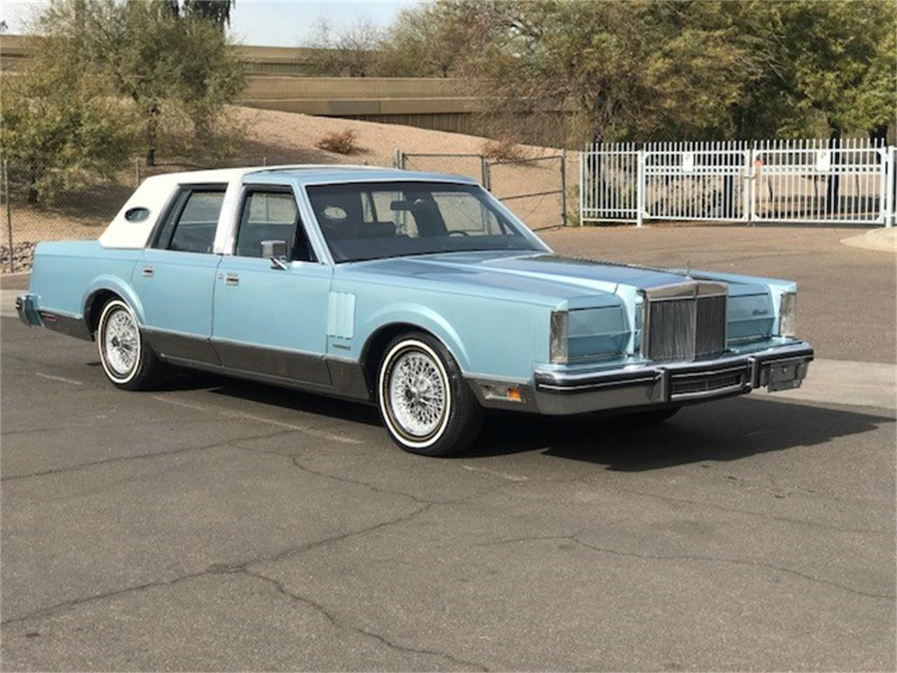 Large Picture of '81 Continental - MOEW