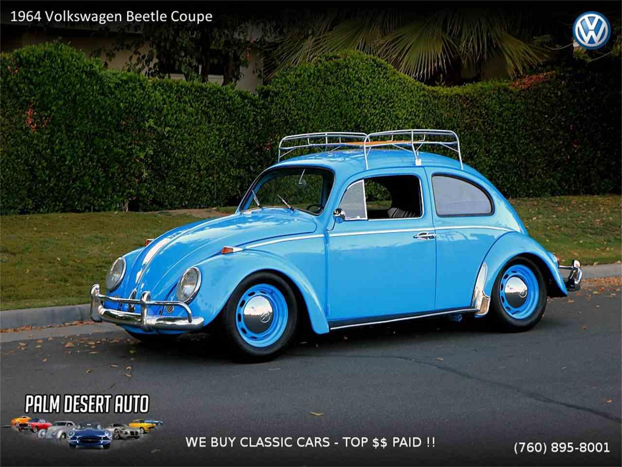 1964 volkswagen beetle for sale cc 1058179. Black Bedroom Furniture Sets. Home Design Ideas