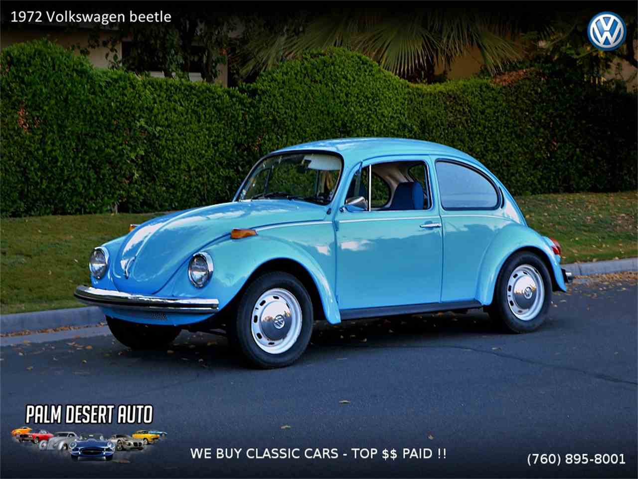 1972 Volkswagen Beetle for Sale | ClassicCars.com | CC-1058181