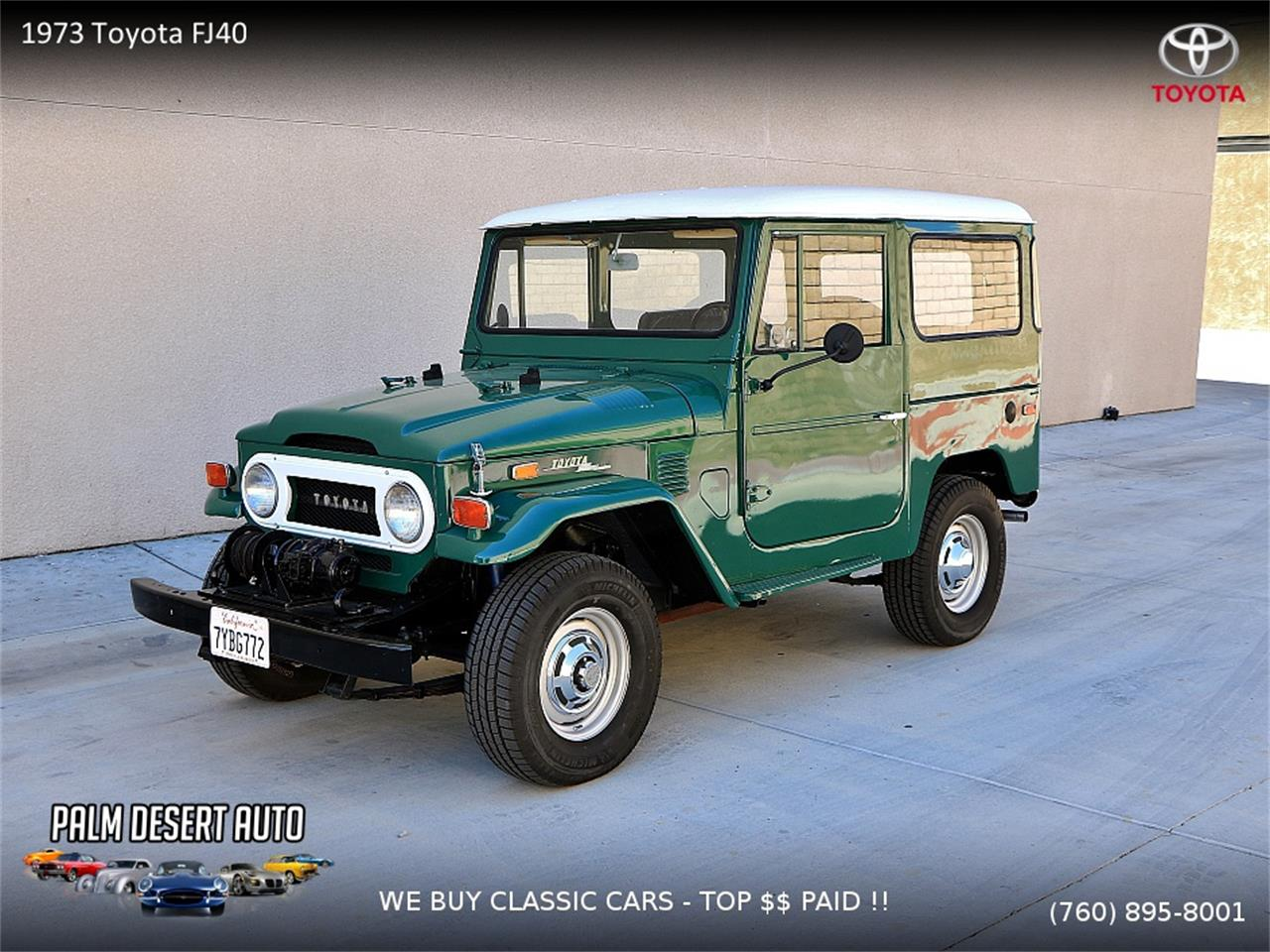 1973 Toyota Land Cruiser Fj For Sale Cc 1058184 Repair Manual Large Picture Of 73 Moi0