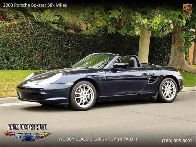 Picture of '03 Boxster - $14,950.00 - MOI8