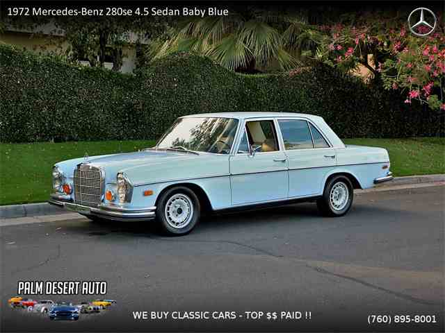 Picture of 1972 280SE Offered by Palm Desert Auto - MOIC