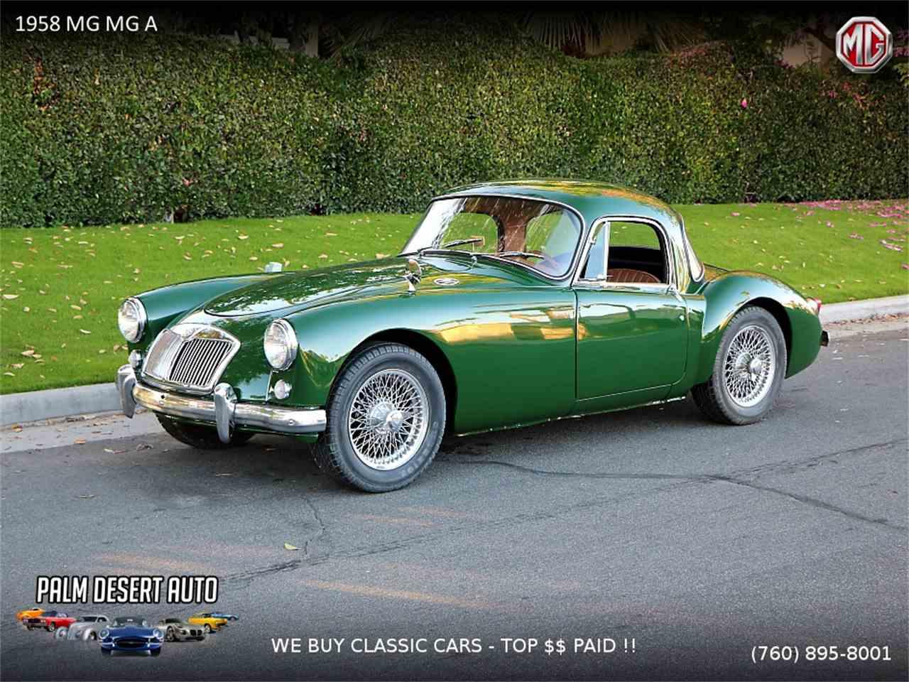 1958 MG MGA for Sale   ClassicCars.com   CC-1058212