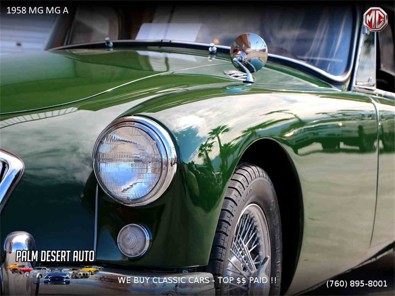 1958 MG MGA for Sale | ClassicCars.com | CC-1058212