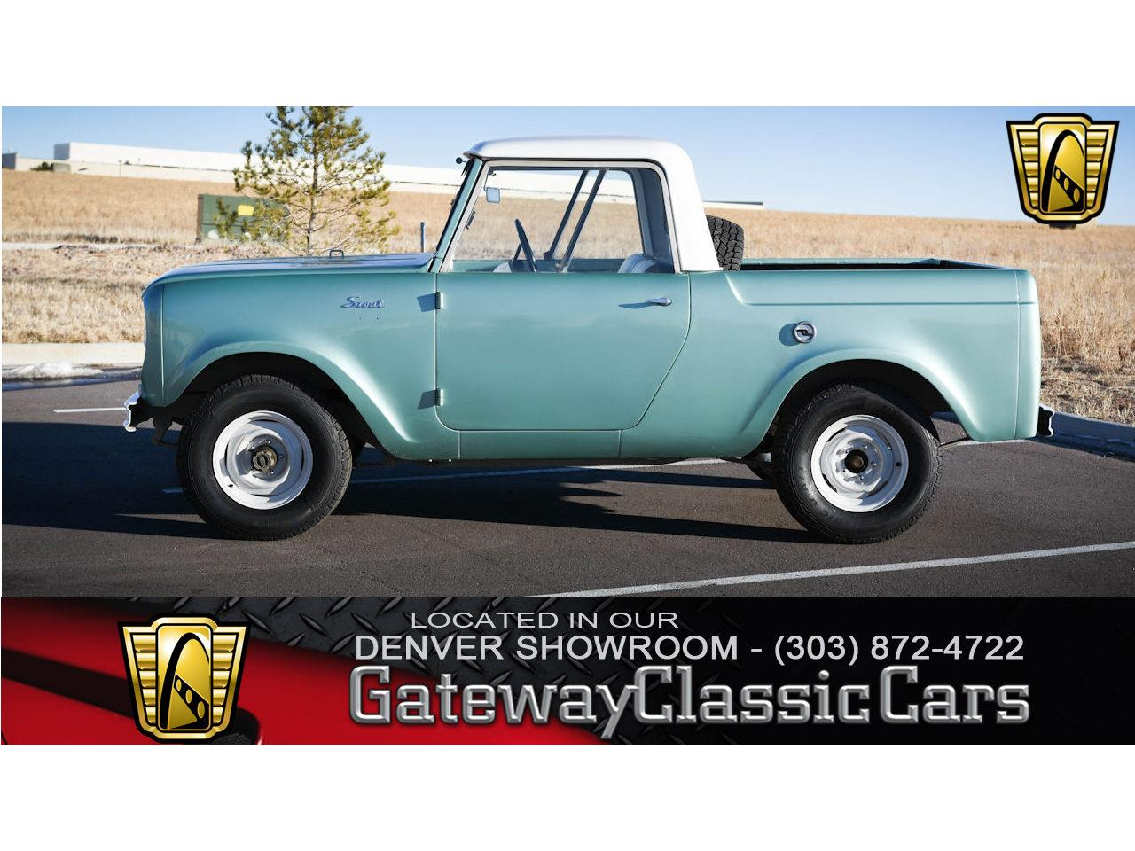 Large Picture Of 62 International Harvester Scout Located In OFallon Illinois Offered By
