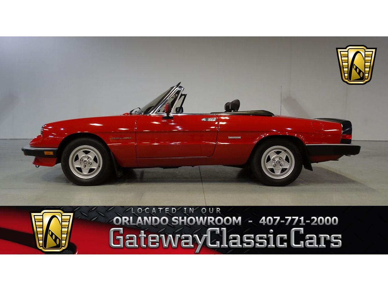 1987 Alfa Romeo 2000 Spider Veloce For Sale Cc Large Picture Of 87 Mom7