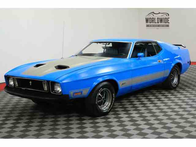 Picture of 1973 Ford Mustang Mach 1 located in Denver  Colorado - $16,900.00 Offered by Worldwide Vintage Autos - MON3