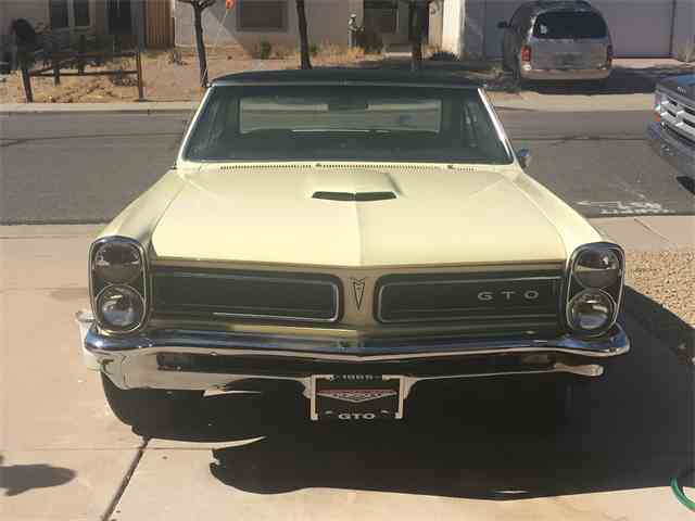 Picture of '65 Pontiac GTO - $38,500.00 Offered by a Private Seller - MOOU