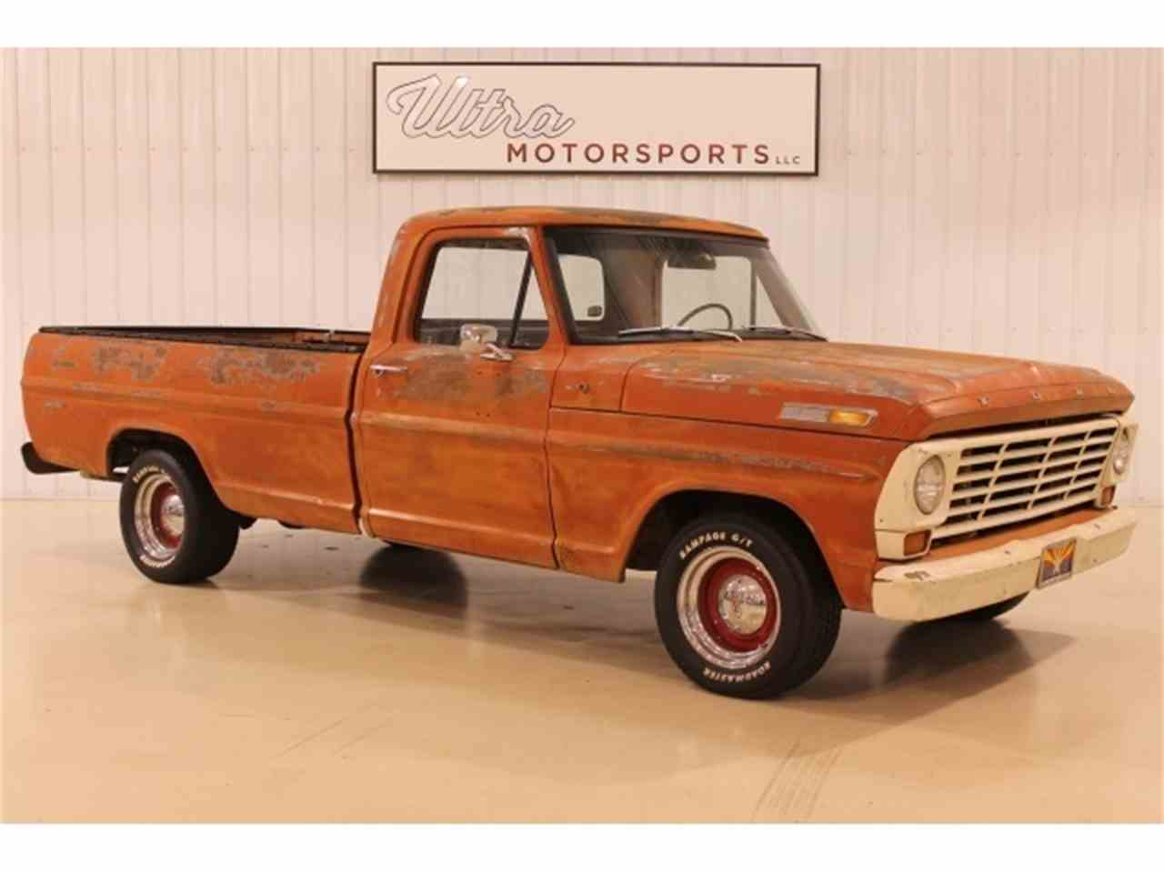 1967 ford f100 for sale cc 1058616. Black Bedroom Furniture Sets. Home Design Ideas