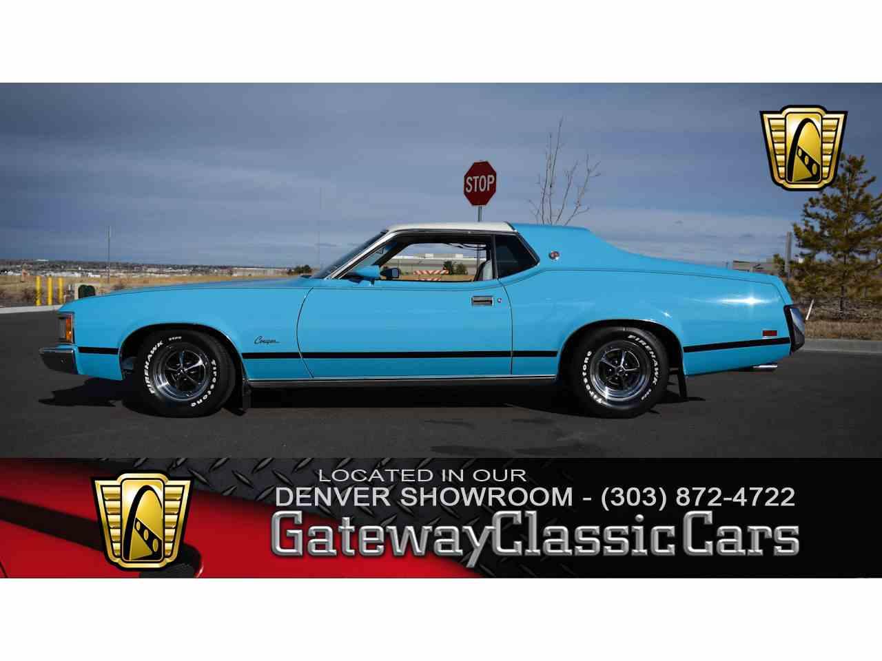 1973 Mercury Cougar for Sale | ClassicCars.com | CC-1058752