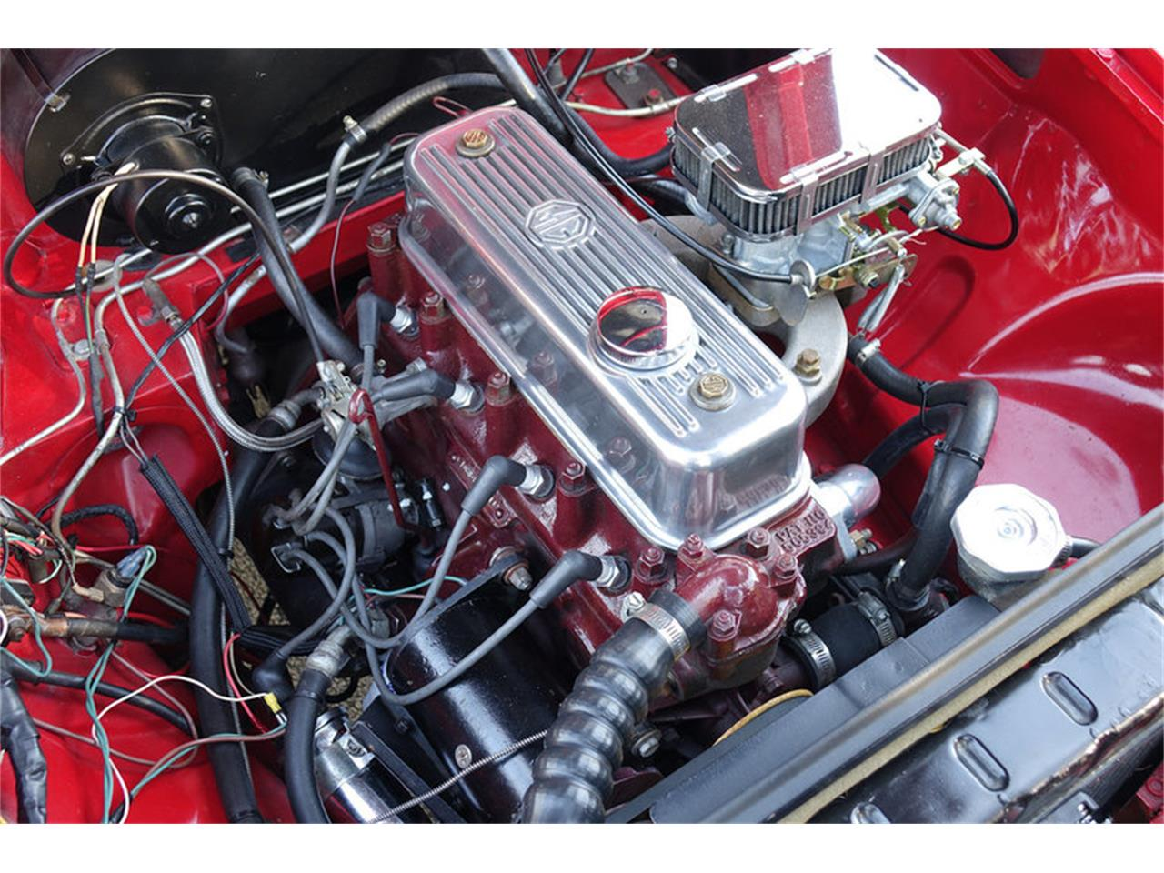 Large Picture of Classic '66 MG MGB located in Vero Beach Florida Offered by Motor City Classic Cars - MP0T