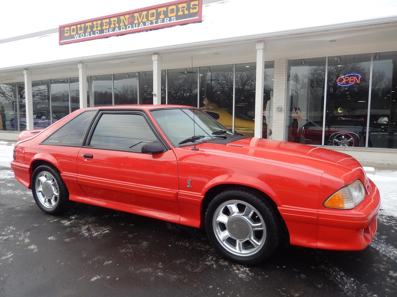 For sale 1993 ford mustang svt cobra in clarkston michigan