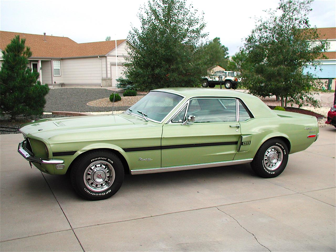 1968 ford mustang gt cs california special for sale cc 1050895. Black Bedroom Furniture Sets. Home Design Ideas