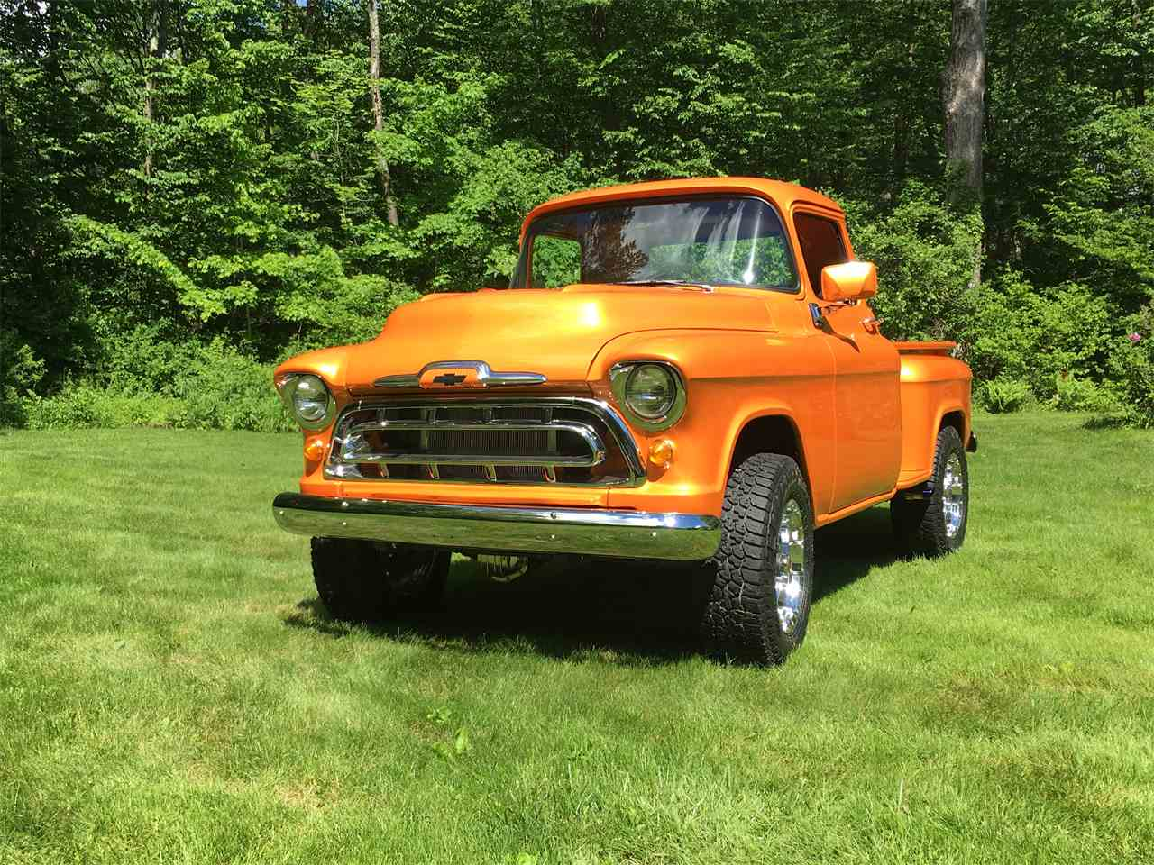 Large Picture of Classic '57 Chevrolet 3100 located in Southbury Connecticut - MP3G