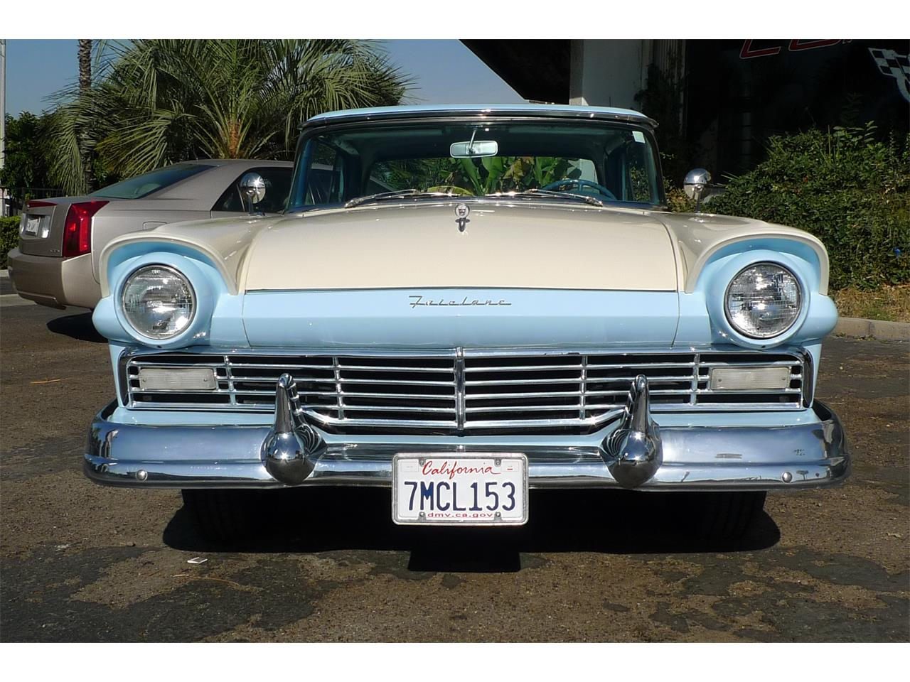 Large Picture of Classic 1957 Ford Skyliner Offered by Coast Corvette - MIVW