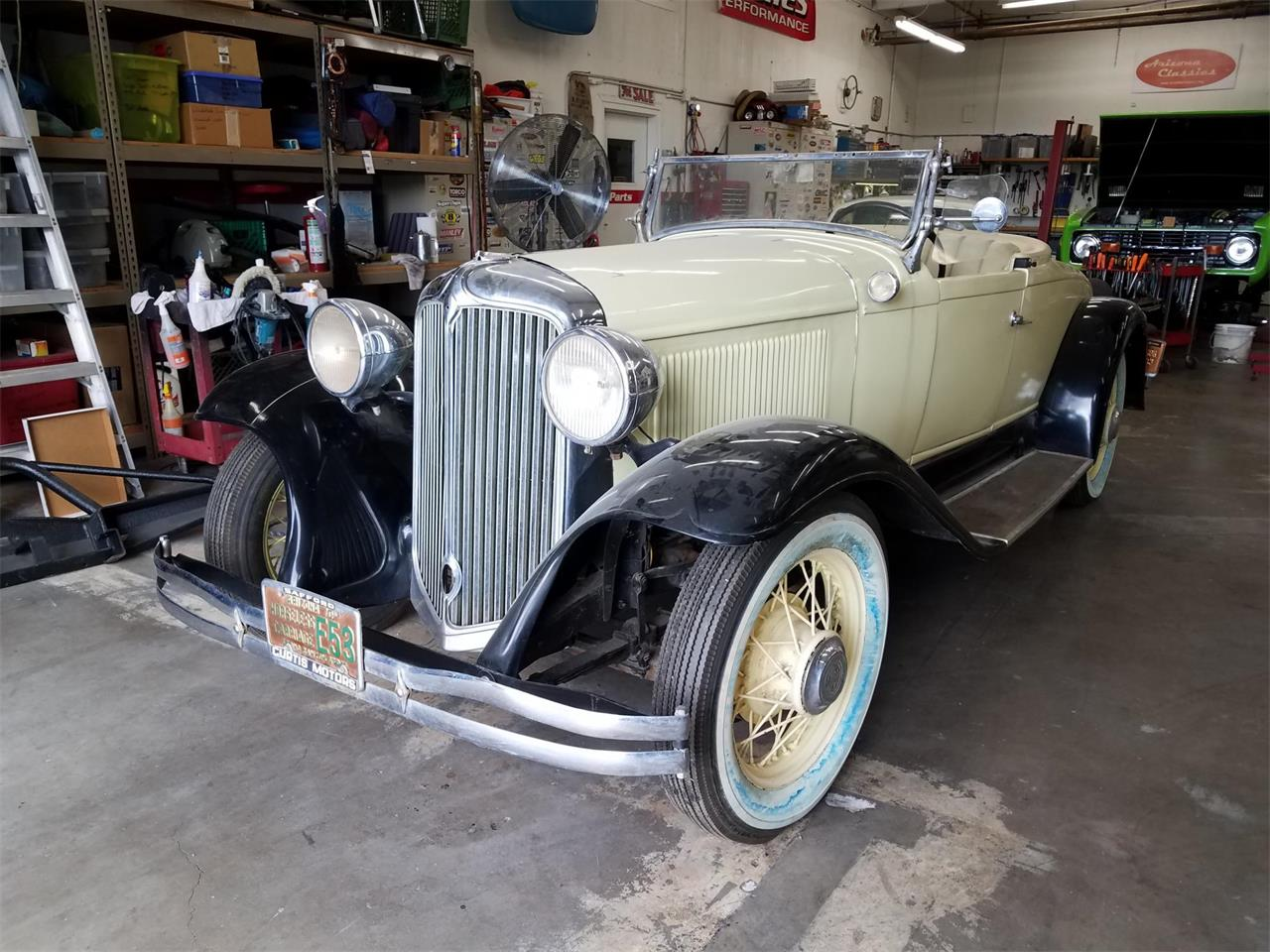 Chrysler For Sale >> 1931 Chrysler Six Roadster For Sale Classiccars Com Cc 1059121