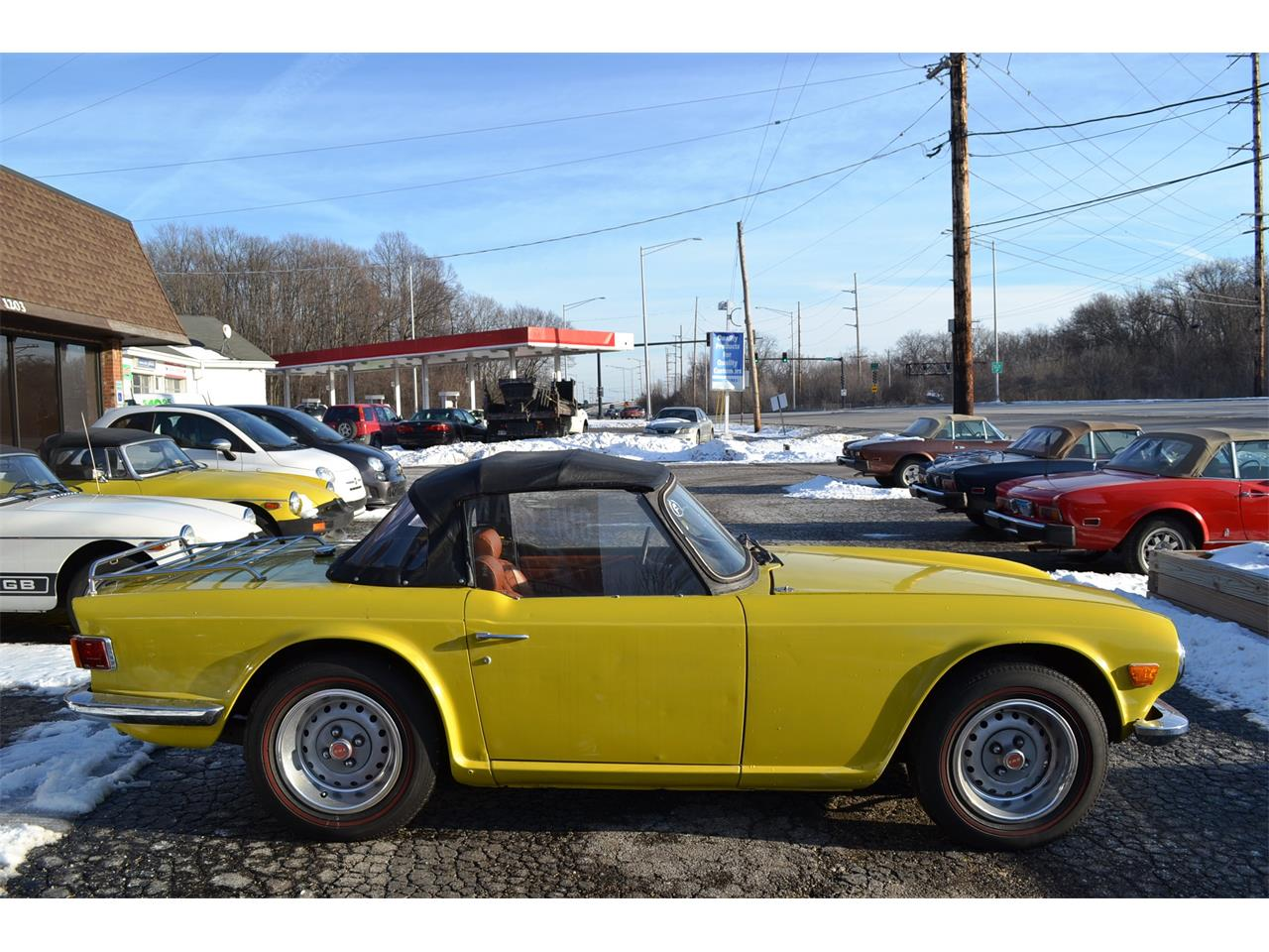 Large Picture of '74 TR6 - MPA4