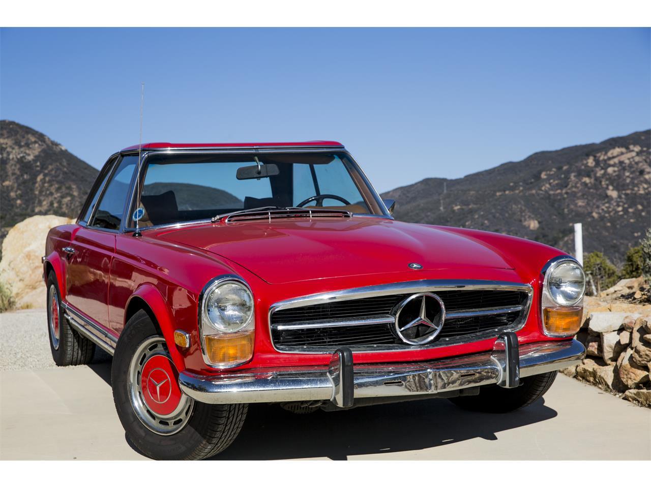 Mercedes Benz Los Angeles >> For Sale 1969 Mercedes Benz 280sl In Los Angeles California