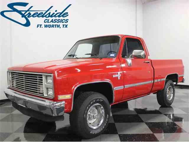 Picture of '87 Chevrolet K-10 Silverado 4x4 - $25,995.00 - MPIW