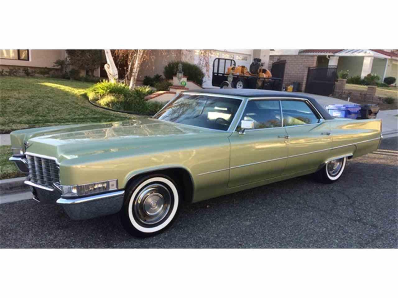 1969 Cadillac Sedan DeVille for Sale   ClicCars.com   CC-1059768