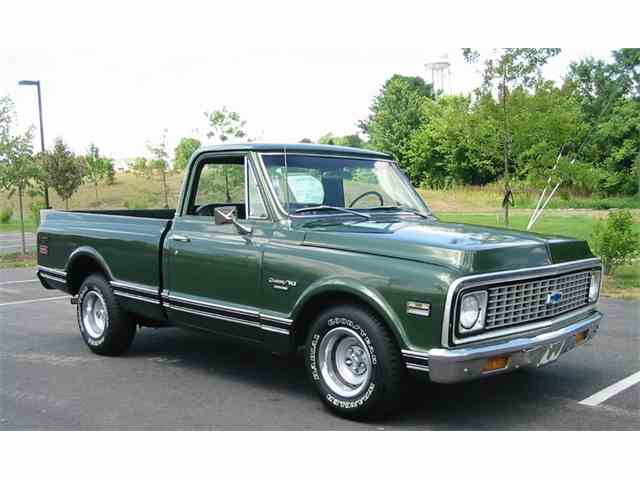 Picture of '71 Chevrolet C/K 10 located in WEST VIRGINIA - MQOK