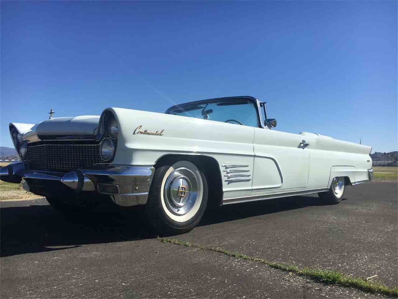 1960 Lincoln Continental for Sale | ClicCars.com | CC-1061104
