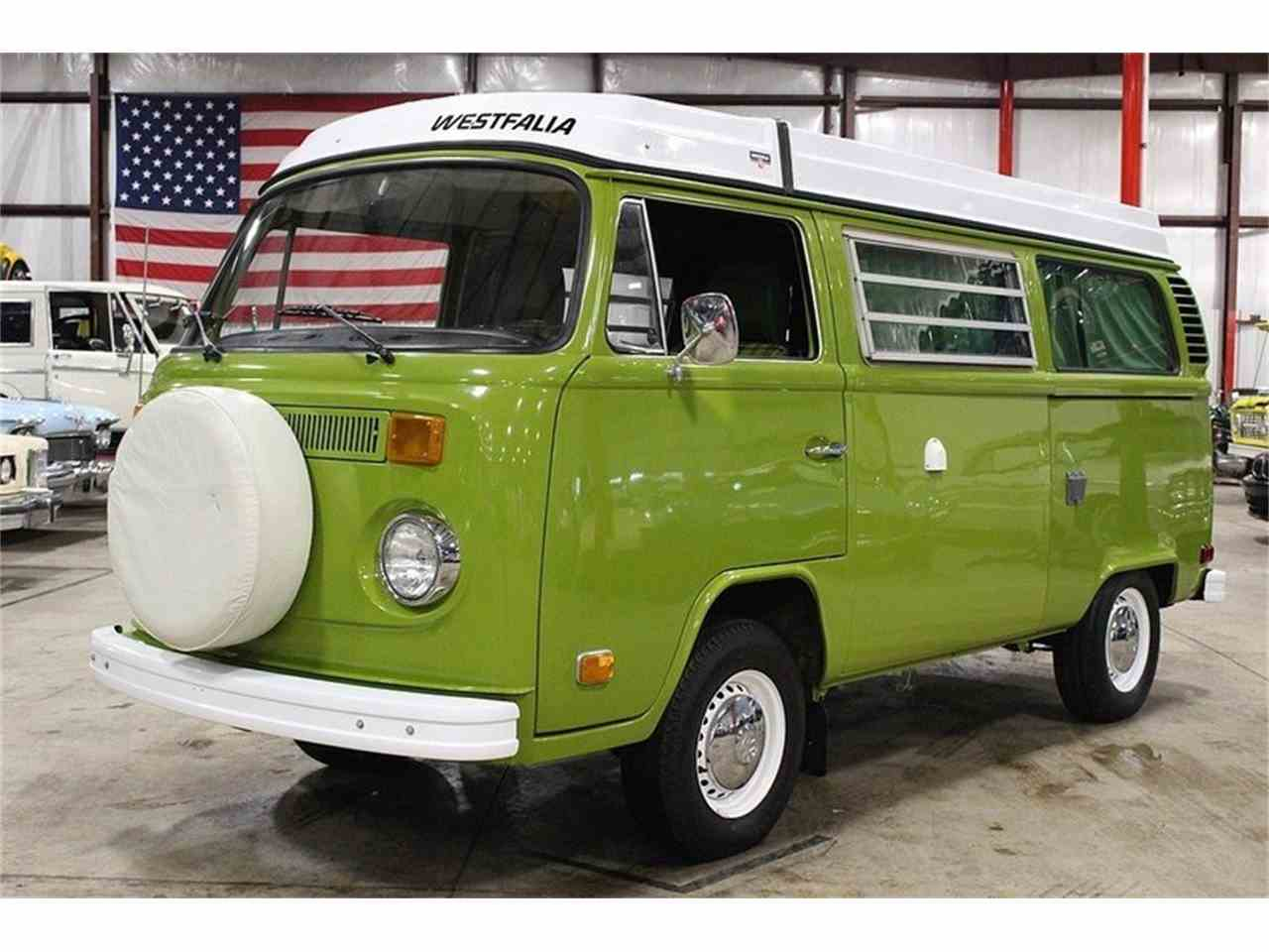 1978 Volkswagen Westfalia Camper For Sale Classiccars