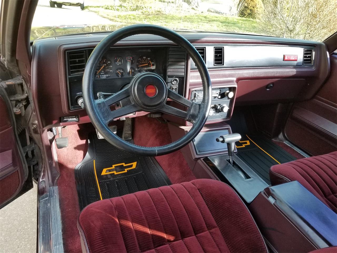 For Sale: 1985 Chevrolet Monte Carlo SS in North Royalton, Ohio