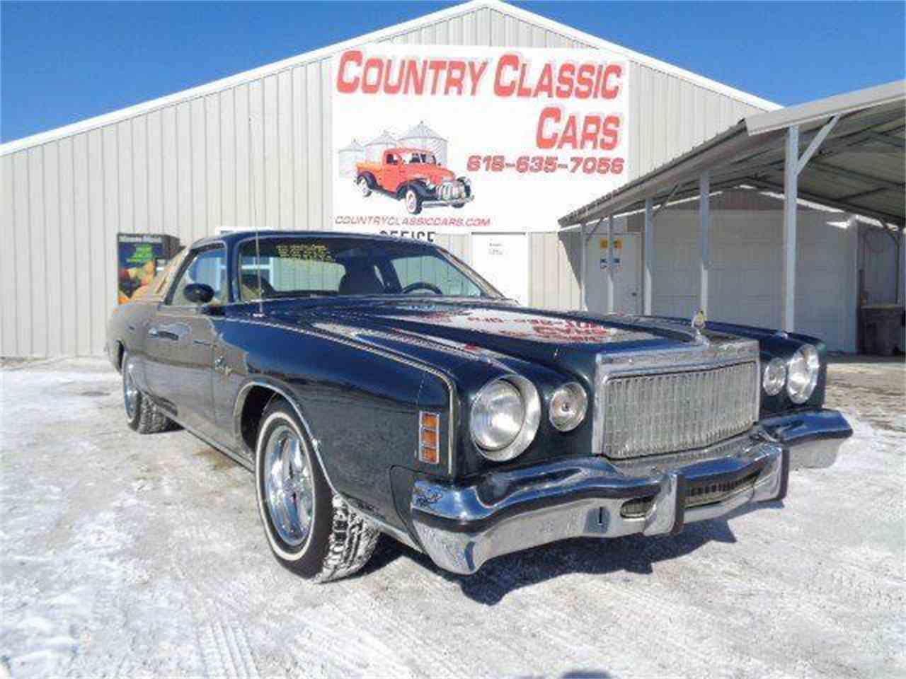 1977 chrysler cordoba for sale cc 1061394. Black Bedroom Furniture Sets. Home Design Ideas