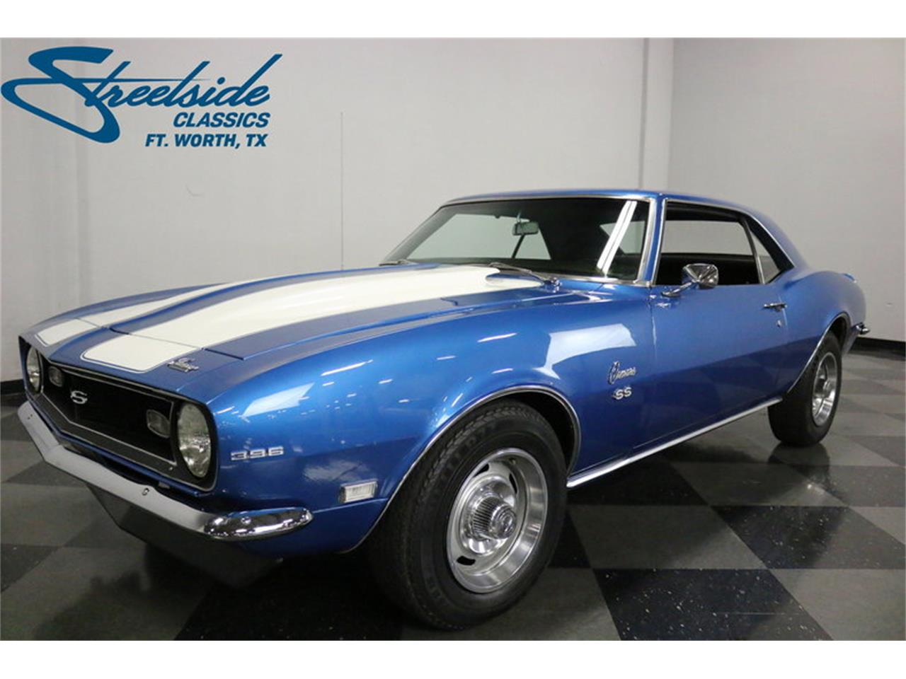 1968 Chevrolet Camaro Ss For Sale Cc 1061526 Blue Large Picture Of 68 Mr2u