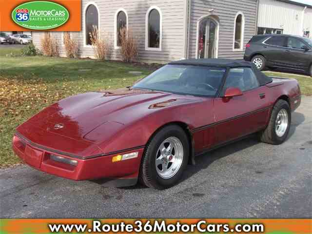 Picture of '87 Corvette - MR4P