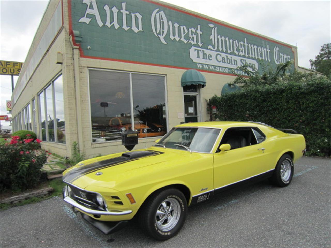 Large Picture of Classic '70 Ford Mustang Mach 1 located in Tifton Georgia - $47,900.00 - MR6C
