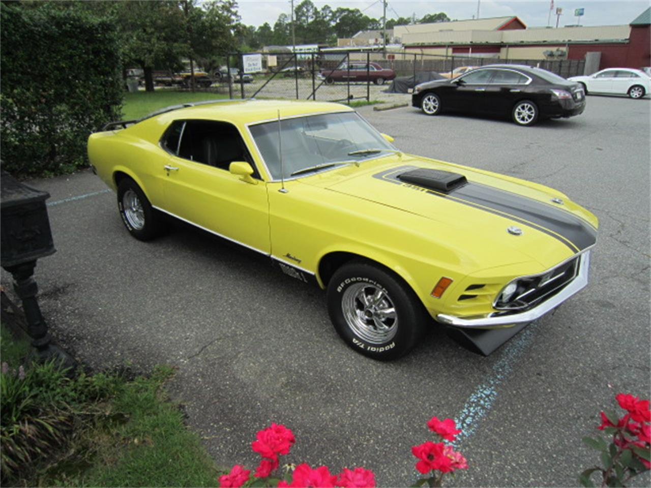 Large Picture of '70 Mustang Mach 1 located in Tifton Georgia - $47,900.00 Offered by Auto Quest Investment Cars - MR6C