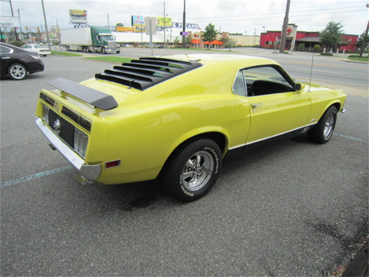 Large Picture of '70 Mustang Mach 1 located in Tifton Georgia - $47,900.00 - MR6C