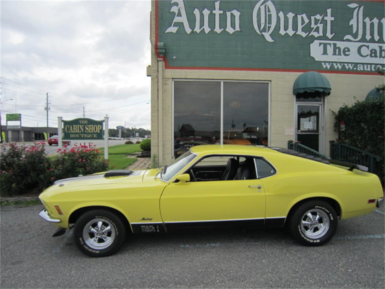 Large Picture of Classic 1970 Ford Mustang Mach 1 located in Tifton Georgia - MR6C