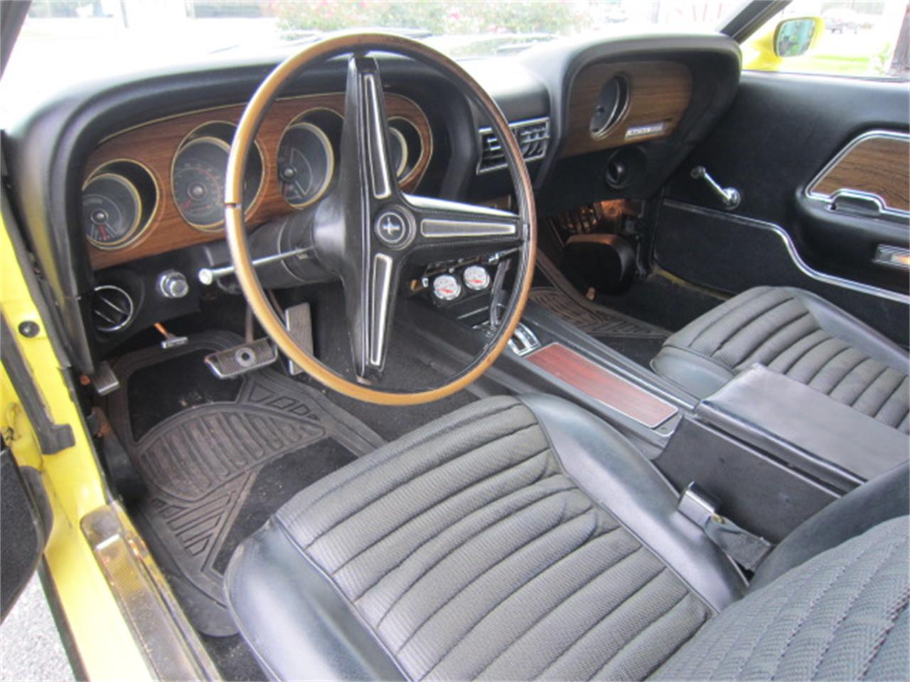 Large Picture of '70 Mustang Mach 1 located in Tifton Georgia Offered by Auto Quest Investment Cars - MR6C
